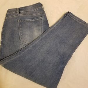 Jordach Light Blue Denim Straight Leg